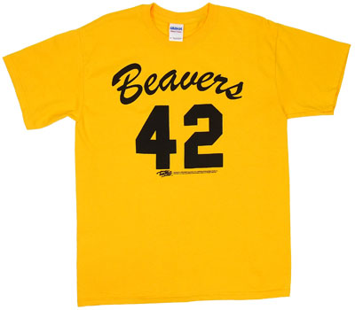 Beavers Uniform - Teen Wolf T-shirt