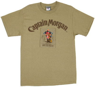 Spiced Rum - Captain Morgan T-shirt