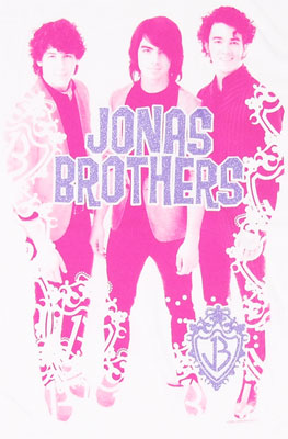 Pink Group - Jonas Brothers Sheer Women\'s T-shirt
