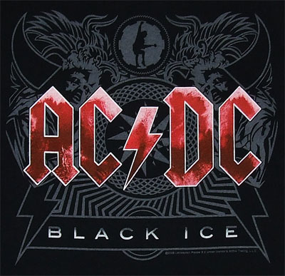 Black Ice - ACDC T-shirt