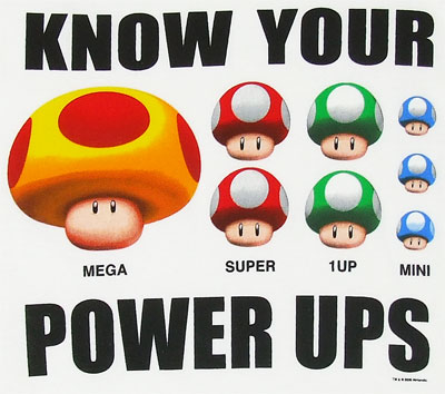 Know Your Power Ups - Nintendo T-shirt