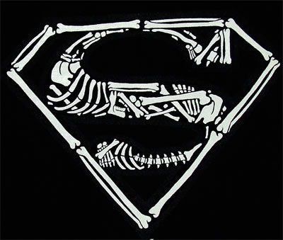 Boney Superman Logo - DC Comics T-shirt