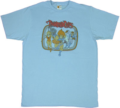 Thundercats Group Charging - Thundercats T-shirt