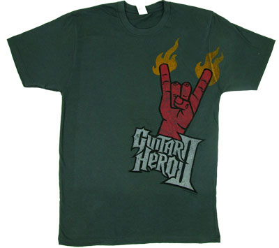 Devil Hand - Guitar Hero Sheer T-shirt