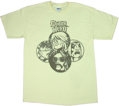 Album Cover - Guitar Hero T-shirt