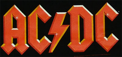 ACDC Logo - ACDC T-shirt