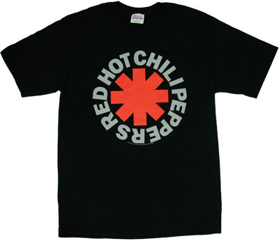 RHCP Logo - Red Hot Chili Peppers T-shirt