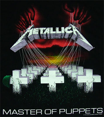 Master Of Puppets - Metallica T-shirt