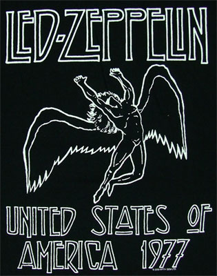 U.S. Tour 1977 - Led Zeppelin T-shirt