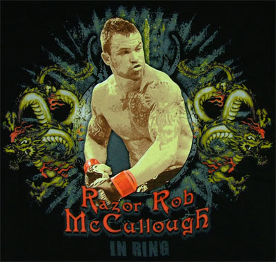Razor Rob McCullough - MMA T-shirt