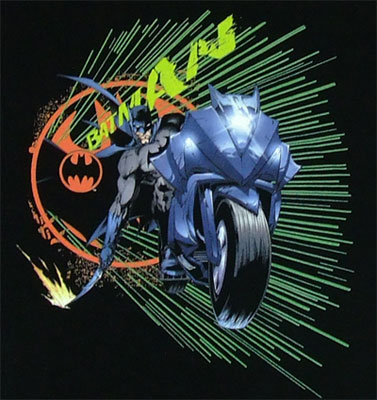Batcycle - Batman Boys T-shirt