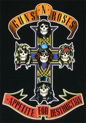 Appetite For Destruction - Guns N\' Roses T-shirt