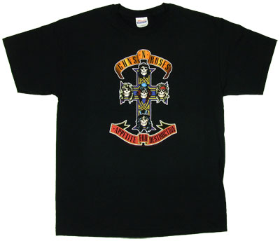 Appetite For Destruction - Guns N\&#039; Roses T-shirt