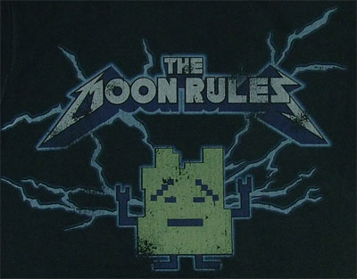 The Moon Rules - Ignignokt - Aqua Teen Hunger Force Sheer T-shirt