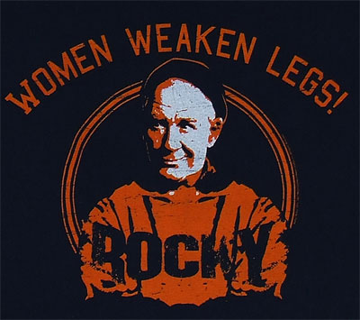 Women Weaken Legs - Mickey - Rocky Sheer T-shirt