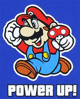 Power Up Mario - Nintendo Boys T-shirt