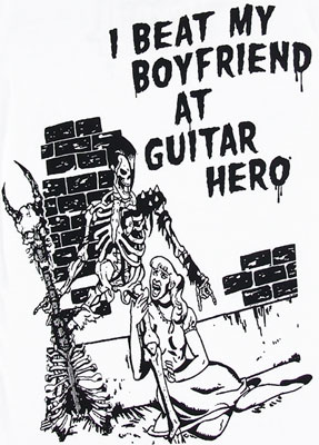 I Beat My Boyfriend At Guitar Hero - Guitar Hero Sheer Women\'s T-shirt