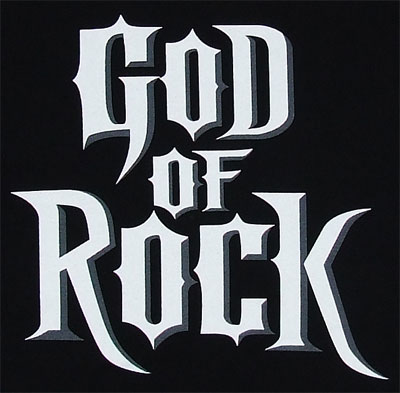 God Of RockGod Of Rock - Guitar Hero Boys T-shirt