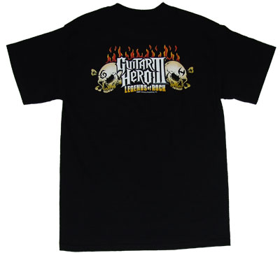 Lou\'s Inferno - Guitar Hero T-shirt