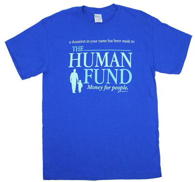 Human Fund - Seinfeld T-shirt