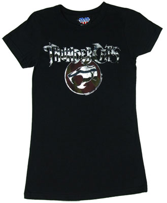 Thundercats Omen on Thundercats Logo  Foil    Junk Food Women S T Shirt   Myteespot   Your