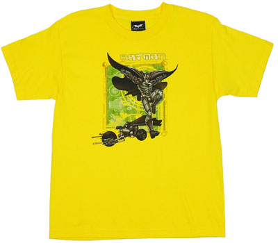 Batman And Batcycle - Dark Knight Boys T-shirt