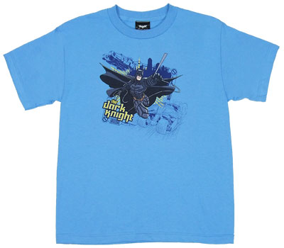 Jump Swing And Dive - Batman - Dark Knight Boys T-shirt
