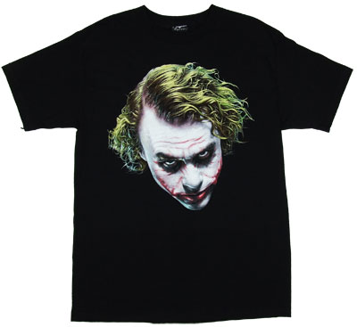Heath Ledger Joker - Dark Knight T-shirt