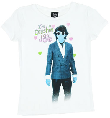 I\'m Crushin On Joe - Jonas Brother Girls T-shirt