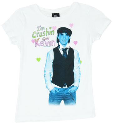 I\&#039;m Crushin On Kevin - Jonas Brothers Girls T-shirt