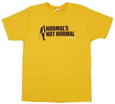 Normal\'s Not Normal - House T-shirt
