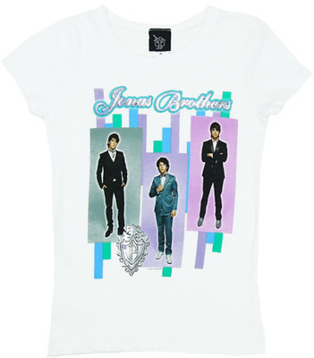 Jonas Brothers Stripe - Jonas Brothers Girls T-shirt
