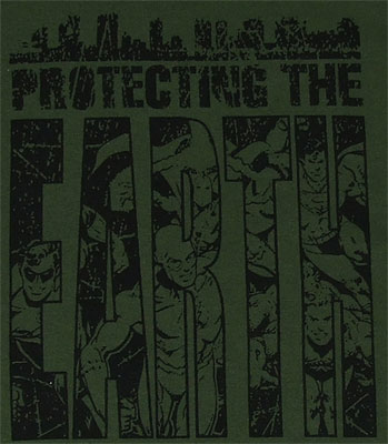 Protecting The Earth - DC Comics T-shirt