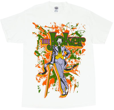 Joker Splatter - DC Comics T-shirt