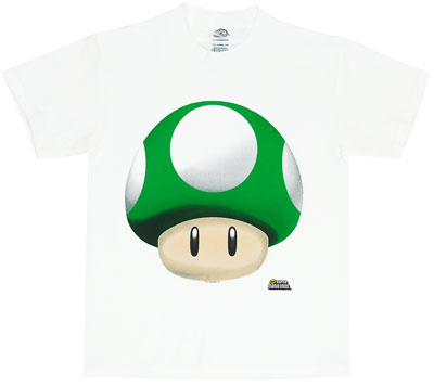 One Up Mushroom - Nintendo Boys T-shirt