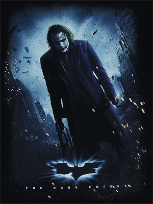 Joker Poster - Dark Knight T-shirt