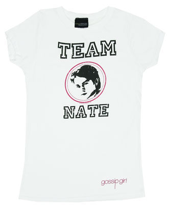 Team Nate - Gossip Girl Sheer Women\'s T-shirt