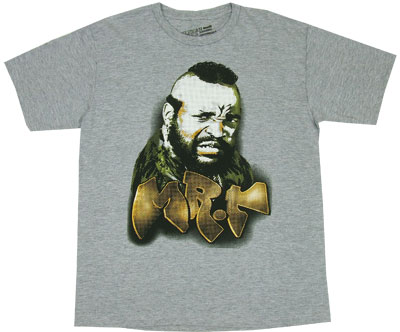 Mr. T Grafitti - A-Team Sheer T-shirt