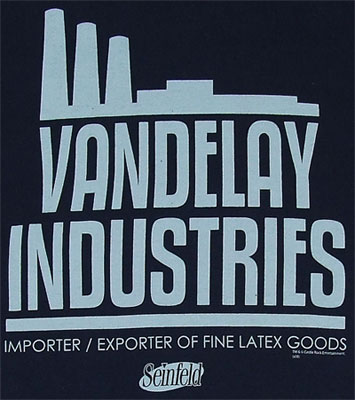 Vandelay Industries - Seinfeld T-shirt