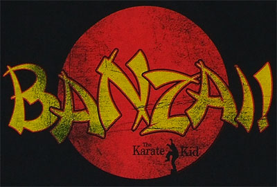 Banzai! - Karate Kid Sheer T-shirt