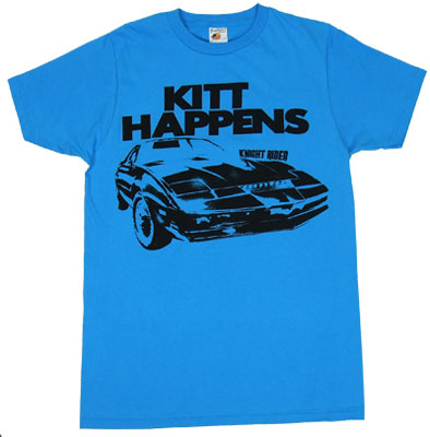Kitt Happens - Knight Rider Sheer T-shirt