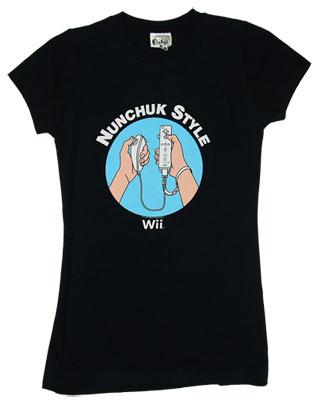 Nunchuck Style - Wii - Nintendo Sheer Women\&#039;s T-shirt                 
