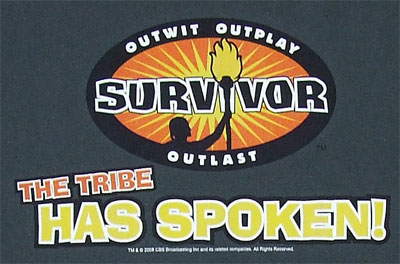 The Tribe Has Spoken - Survivor T-shirt