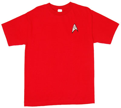 Engineering Uniform - Star Trek T-shirt