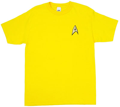 Command Uniform - Star Trek T-shirt