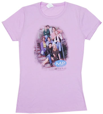 MP Cast - Melrose Place Sheer Women\&#039;s T-shirt