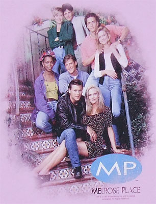 MP Cast - Melrose Place Sheer Women\'s T-shirt