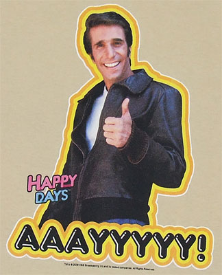 AAAYYYYYY! - Happy Days T-shirt