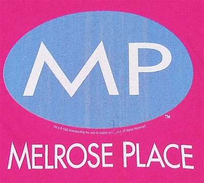 Melrose Place Logo - Melrose Place Sheer Women\'s T-shirt