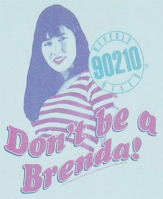 Don\'t Be A Brenda - 90210 Sheer Women\'s T-shirt
